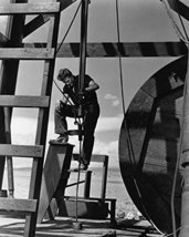 James Dean in Giant as Jet Ring working on oil rig platform 16x20 Canvas Giclee - $69.99