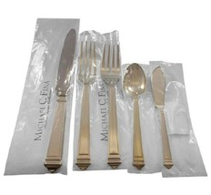 Capitol by Greggio Italy Sterling Silver Flatware Set Dinner Size 20 Pcs... - $2,650.00