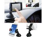 360 Swing Car Mount Holder Cradle Bracket Suction Cup Kit For Mobile Phone GPS