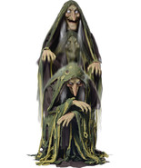 Animated Life Size Evil Swamp Witch Halloween Prop - $257.39