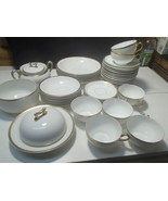 "Bavaria China "" The Baronial "" Dinnerware 42 Pieces / Bavaria, Germany - $79.95"