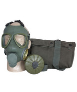 Serbian Army Military Issue Survival Gas Mask Carry Bag & Filter NBC Pro... - $49.95