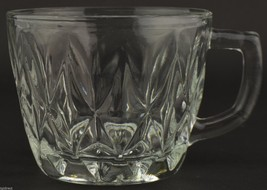 Anchor Hocking Glass Crown Point Pattern Punch Cup Vintage Glassware Cry... - $2.99
