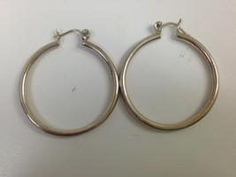 STERLING SILVER HOOP EARRINGS 925 - $19.79