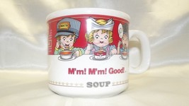 1993 CAMPBELL SOUP MUG BY WESTWOOD CHINA ~ 14OZ. - $3.99
