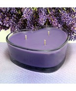 Herbal Lavender and Lemongrass PURE SOY Heart Container Cand - $12.50