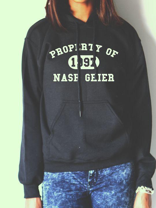 NASH GRIER HOODIE NASH GRIER SHIRTS PROPERTY OF NASH GRIER ...