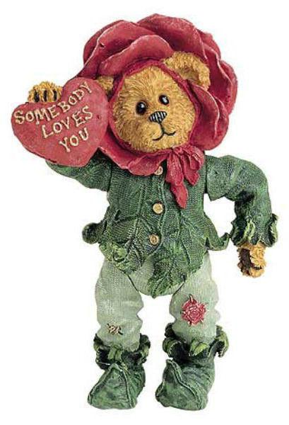 "Boyds Shoebox Bears ""Rosie Thornbeary..Somebody Loves You"" #3234- 2E- NIB-"