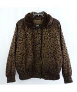 London Fog Iridescent Brown with Velvet Thinsulate Bomber Style Jacket S... - $38.69