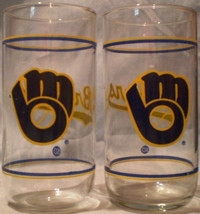 Milwaukee Brewers Glasses - $8.00