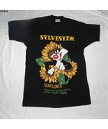 Warner Bros. Sylvester 1994 Black SZ XL Tee by Jerry Leigh - $14.99