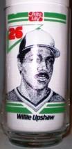 Frito Lay Toronto Blue Jays Glass Willie Upshaw 1986 - $8.00