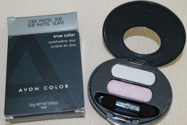 True Color Eyeshadow Duo - Iced Pastel - Full size, Pressed Powder, Shimmer - $7.95