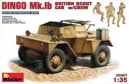 Miniart Models - 35067 - Daimler Dingo Mk IB British Scout Car with Crew - $41.99