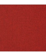 BTY Maharam Kvadrat Tonica 611 Red Wool Upholstery Fabric 460850–611 HA - $24.70