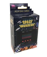 Space Invaders Arcade Game Playing Cards Deck with Embossed Case NEW SEALED - $7.84