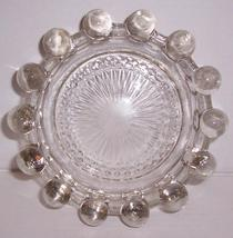 (1) Candlewick Depression Large Heavy Pressed Glass Design Ashtray - $74.64