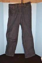 Jones New York Signature Stretch Jeans-Dark Wash-Size 6-Gripper Close Pockets - $3.00