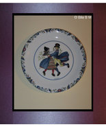 "RORSTRAND - SWEDEN Porcelain 7 1/2 "" Collector PLATE - Swedish National Costumes - $39.99"