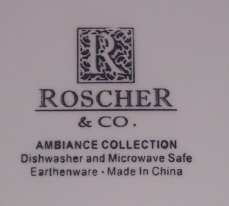 1) Roscher & CO. Ambiance Collection Dinner and 34 similar items