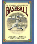 100 YEARS OF MAJOR LEAGUE BASEBALL BY DAVID NEMEC  - $54.09