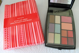 All Over Color Pallette - Lip, Eye & Blush plus hidden compartment Face Powder - $6.89