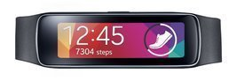Samsung Gear Fit Fitness Tracker and Smartwatch for Samsung Devices (US ... - $149.99