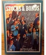 Stocks & Bonds 1964 3M Stock Market Game - Vintage - Bookcase Style Stor... - $9.94