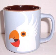 "1977 FITZ & FLOYD ""COCKATOO"" Exotic Bird Collection Porcelain Mug - $36.29"