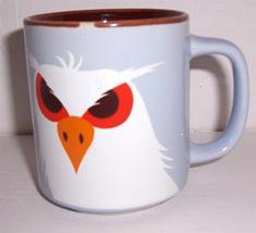 "1977 FITZ & FLOYD ""OWL"" Exotic Bird Collection Porcelain Mug - $36.29"