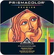 Prismacolor Premier 48 Colored Pencils in Tin Box - $44.95
