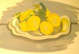 """1960 Georges Braque """"Corbeille de fruits / bask... - $674.55"""