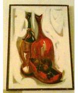1960's Vintage Original, & Signed Jack Amoroso Lacquer Still Life Art Pa... - $16,881.99