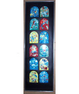 1962 12 Marc Chagall Jerusalem Haddasah Windows Judaica - Andre Sauret D... - $770.99