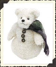 "Boyds Bears ""Fitz Farklefrost"" #91360 - 6"" Plush Snowbear- NWT- 2000- Retired - $12.99"
