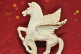 Pegasus Figurine Mythological Creature Winged Horse Greek Mythology Alab... - $40.19