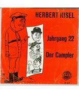 "1965 Rare Herbert Hisel Jahrgang 22 Der campler EP 4131 7"" german comedy... - $30.96"