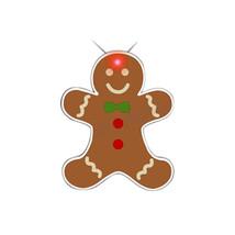 Blinkee Christmas Seasonal Party Decorative Gingerbread Man Body Lights - $16.15