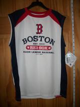 Baseball MLB Boy Clothes Large Boston Red Sox Jersey Youth Base Ball Shirt Top - $14.24