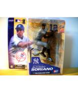MLB Action Figure Toy New York Yankees Baseball Alfonso Soriano Ball Col... - $18.99