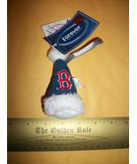 MLB Christmas Ornament Decor Boston Red Sox Holiday Baseball Team Cap Sa... - $9.49