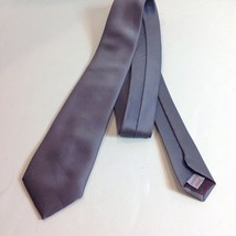 Mark of California Imported Fabric 100% Polyester Silver Necktie Tie - $29.21