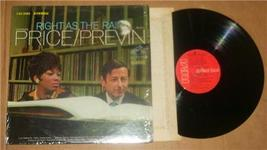 "1967 LEONTYNE PRICE & PREVIN ""RIGHT AS THE RAIN"" LP - $35.39"