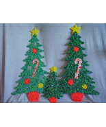 Melted Plastic Popcorn Decorations Two Large On... - $45.00