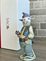 Nao by Lladro 02001782 Tooth mouse Porcelain Figurine Glased New  - $168.30