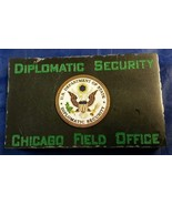 Diplomatic Security Chicago Field Office State Dept DSS  w Emblem Marble... - $54.45