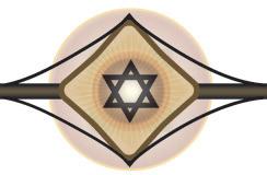 1971 Original Hand signed & Numbered 36/120  Chaim Gross Judaica art litho print