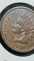 1909S Indian Head Cent Penny  image 6