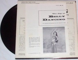 1973 GEORGE ABDO THE ART OF BELLY DANCING MONITOR LP - $26.40