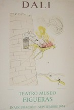 1974 SALVADOR DALI TEATRO MUSEO LITHO SPAIN ART... - $289.14